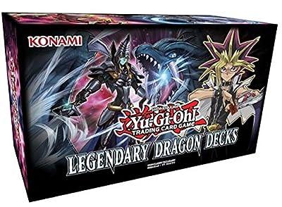 Yugioh Legendary Dragon Decks Set English TCG Game - 153 cards from Konami