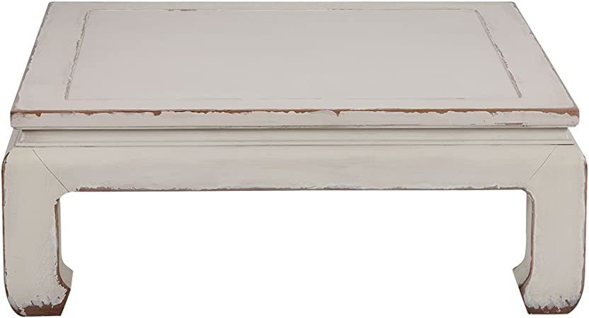 Amazon Com Ethan Allen Dynasty Square Coffee Table Aged Bisque