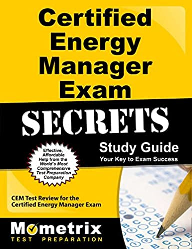 buy certified energy manager exam secrets study guide cem test rh amazon in Home Energy Audit Certified Internal Auditor