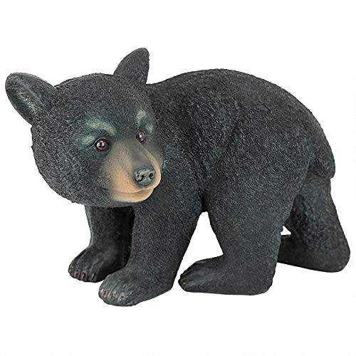 Design Toscano Roly-Poly Bear Cub Statue, Walking Bear (Animal Outdoor Statues)