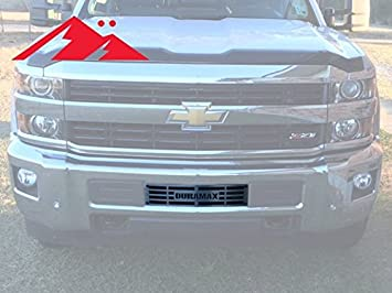 Mountains2metal 2015 2019 Chevy Silverado 2500 3500 Hd Duramax Brushed Stainless Steel Bumper Grille Insert 400 60 3