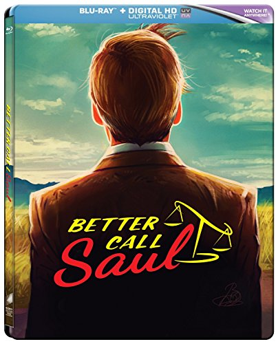 Better Call Saul - Season 1 Limited Edition Steelbook [Blu-ray] -  Rated R, Bob Odenkirk