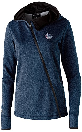 Gonzaga Bulldogs Jacket (NCAA Gonzaga Bulldogs Women's Artillery Angled Jacket, 2X, Navy Heather)