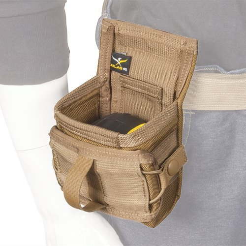 Atlas 46 AIMS Tape Measure Pouch with Security Flap Coyote | Work, Utility, Construction, and Contractor by Atlas 46 (Image #2)