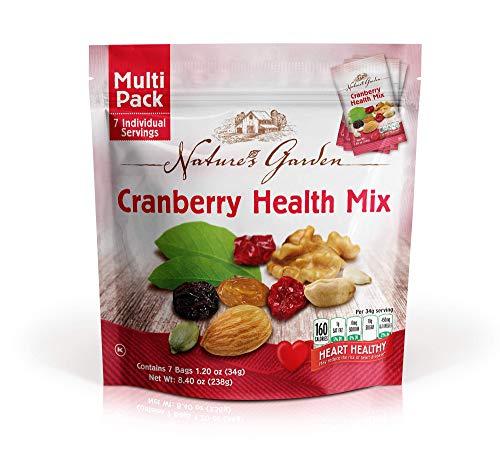 Natures Garden Cranberry Health Mix, Single Serve Bags 7pk
