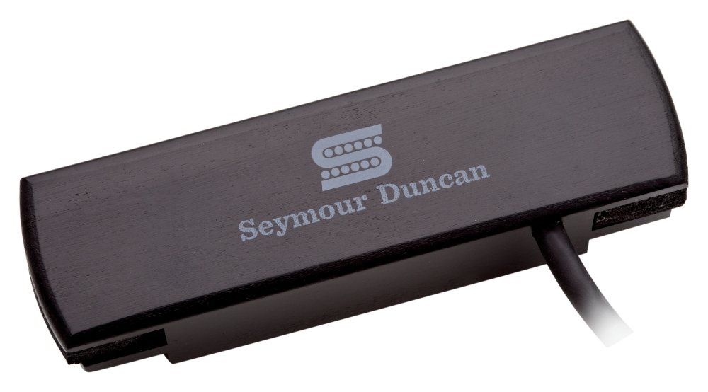 Black Seymour Duncan Woody HC SA-3HC Hum-Canceling Acoustic Soundhole Pickup