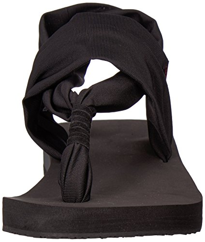 Chooka Women's Yoga Sling Flip-Flop Black trJePJ5