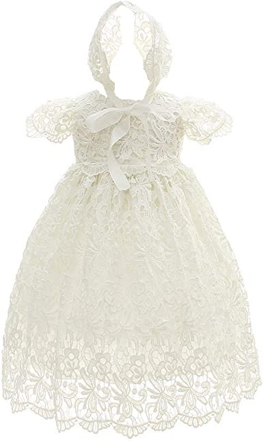 6//9mo Infant Girls White Christening//Dedication Gown Size 0//3mo