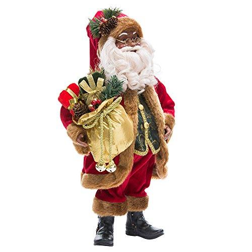 Kurt Adler 18-Inch KSA Kringles African American Santa