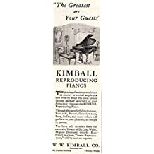 1925 Kimball Pianos: Greatest are Your Guests, Kimball Pianos Print Ad