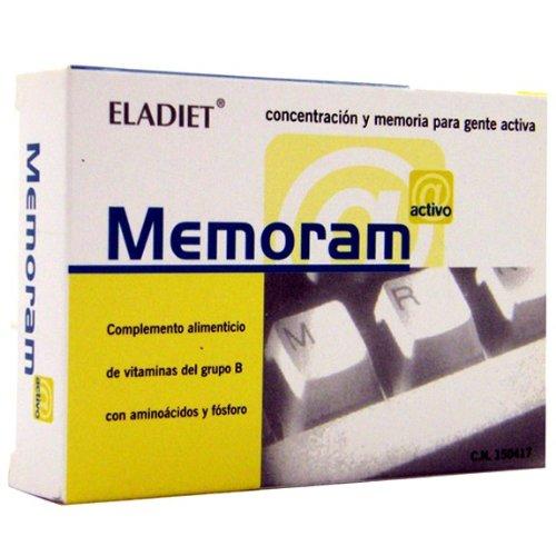 MEMORAM 60 COMP 500MG ELADIET 60 COMP: Amazon.es: Salud y cuidado personal