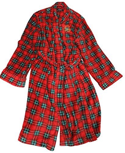 a0dd52d3455b Ralph Lauren Women's Bathrobe Red and Green Plaid