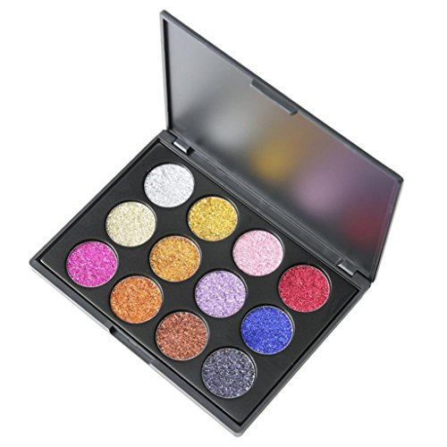 Shimmer Glitter Eye Shadow Powder Palette Matte Eyeshadow Cosmetic -
