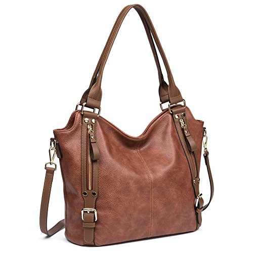 Big Sale Women PU Leather Handbags Hobo Shoulder Tote Bags Large Capacity Purses by CALLAGHAN Large Hobo Tote Handbag