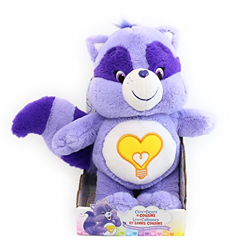 Care Bear Cousins Bright Heart Raccoon Medium (Heart Care Bear Plush)
