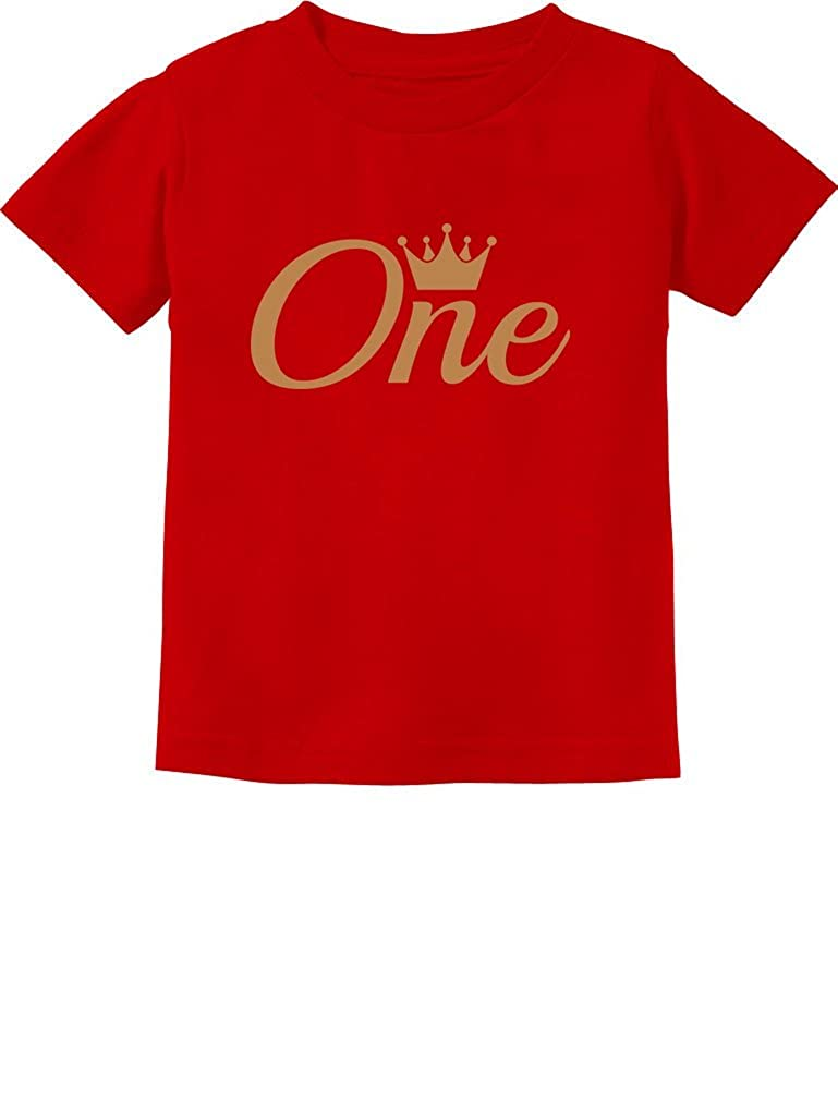 Baby Girl Boy 1st Birthday Gift One Year Old Crown Infant Kids T Shirt GZalla0g75