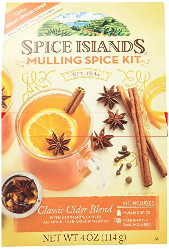 Spice Islands Classic Cider Blend (Mulling Spice Kit) with Infuser Ball by Unknown by Unknown
