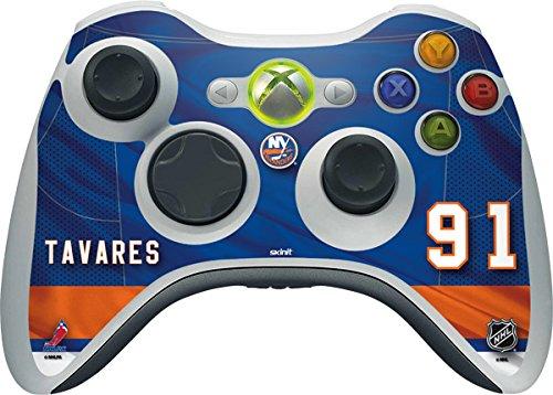 NHL New York Islanders Xbox 360 Wireless Controller Skin - New York Islanders #91 John Tavares Vinyl Decal Skin For Your Xbox 360 Wireless Controller by Skinit
