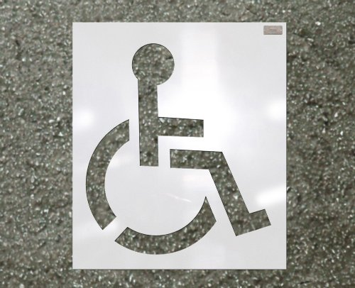39-handicap-stencil-1-16-plastic-for-use-in-parking-lot-and-roadway-painting-and-striping