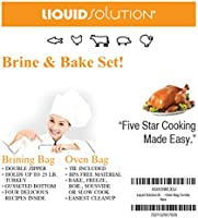 XL Brining Bag/Oven Bag combo Pefect for Turkey