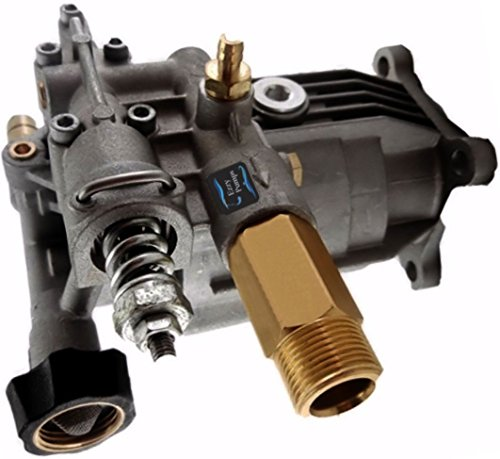 Auto Express New Universal Horizontal Pressure Washer Pump, 2400-3100 PSI 2.5 GPM, for DeVilbiss, Porter Cable, DeWalt, Troy Bilt, Ex-Cell and More ()