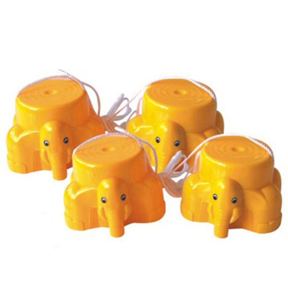 ZGUO Easy Elephant Stepper Bucket Stilts Fun Active Toy Improve Balance Coordination Builders for Children by ZGUO