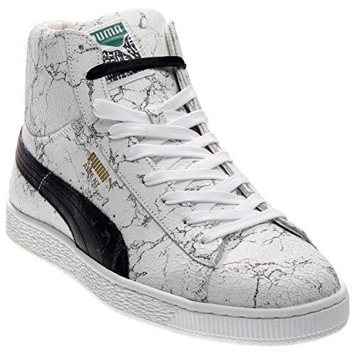 Puma States Mid X Alife Marble Men White Tennis Shoe