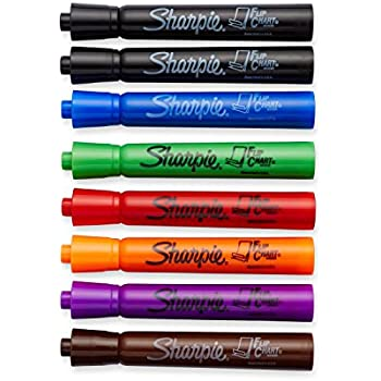 Sharpie Flip Chart Markers, Bullet Tip, Assorted Colors, 8-Count