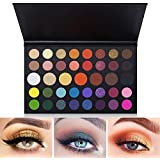 Kit Sombras de Ojos 39 Colores,AVEDISTANTE Paleta de Sombra de Ojos Paleta Básica para Principiantes Maquillaje…