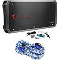 Rockville RXD-M4 6000 Watt Mono Class D 1-Ohm Car Audio Amplifier Car Stereo Amp
