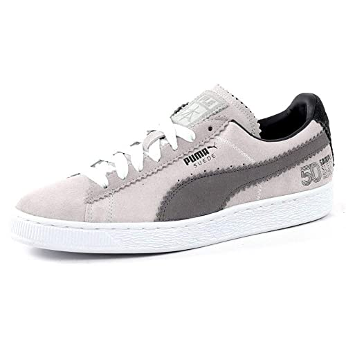 7ae10c46aac8 Puma Suede Classic X Michael Lau Grey  Amazon.co.uk  Shoes   Bags