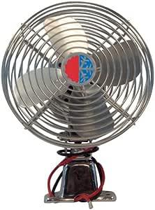 4 HVAC C US (1000641228) Chrome 12V Auxiliary Defrost Fan