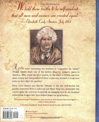 Remember the La s 100 Great American Women Cheryl Harness