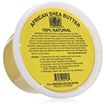 Ra Cosmetics African Shea Butter 100% Natural, 16 Oz
