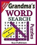 Grandma's Word Search Puzzles (Volume 1)