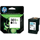 HP 301XL - CH563EE CH563E High Yield - black - original - ink cartridge Deskjet/PSC/ Photosmart/Officejet /Digital Copier printers - Easy Mail Packaging - Foil Inks
