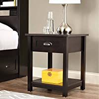 Better Homes and Gardens Lafayette Side Table (Espresso Finish)
