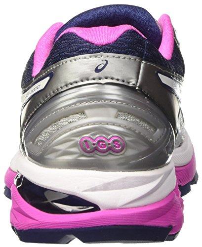 Asics Women's Gt-2000 5 Running Shoes, Grey, 5 UK Grey (Midgrey/White/Pink Glow)