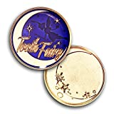 Coins For Anything Inc Tooth Fairy Collectible Coin -Tooth Fairy Novelty Token - Great Tooth Fairy Gift - Fairy Money - Engravable Back Side