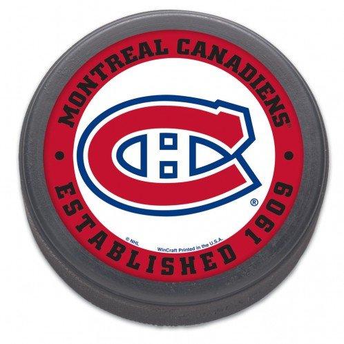NHL Montreal Canadiens Hockey Puck (Nhl Hockey Montreal)