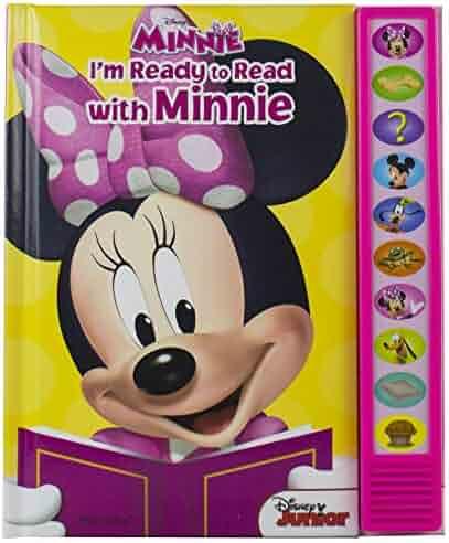 Disney Minnie Mouse: I'm Ready to Read with Minnie Sound Book - Play-a-Sound - PI Kids