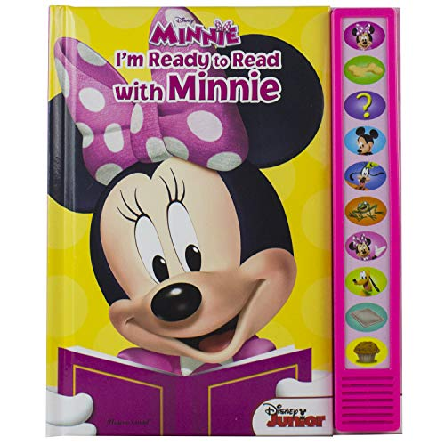Disney Minnie Mouse: I#039m Ready to Read with Minnie Sound Book  PlayaSound  PI Kids