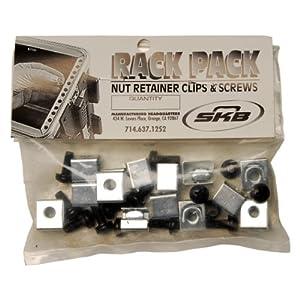 SKB Rack Mount Hardware, Black