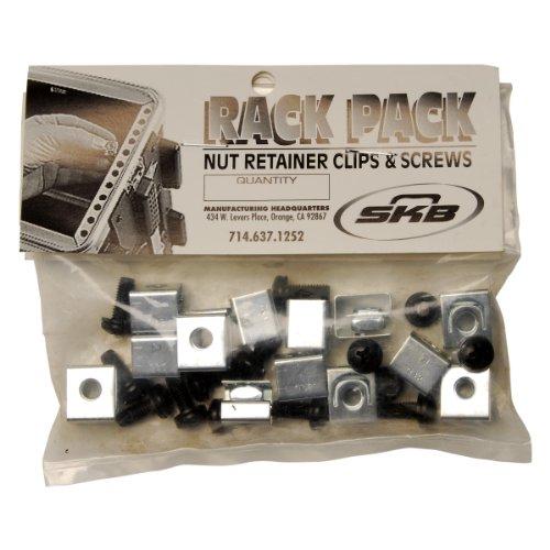 SKB Rack Mount Hardware, Black by SKB