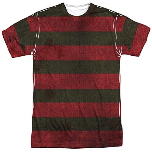 TeeShirtPalace Nightmare On Elm Street - Freddy Krueger Sweater All Over Print - Elm Street Sweater Freddy