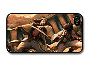 iphone covers Samurais Fighting With Sabre Cool Style Illustration case for Iphone 6 4.7