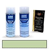 2018 Jaguar F-Pace Seraphinite Metallic 1BC/LAZ/2150 Touch Up Paint Spray Can Kit by PaintScratch - Original Factory OEM Automotive Paint - Color Match Guaranteed
