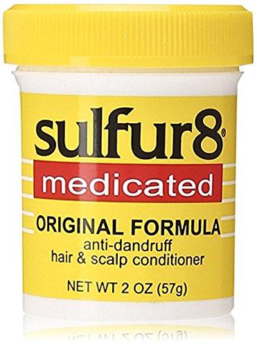 - (Pack of 3) Sulfur8 Medicated Anti-Dandruff Hair & Scalp Conditioner, Original Formula, 2-Ounce Bottle