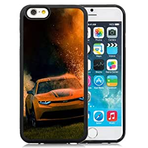 Fashion DIY Custom Designed iPhone 6 4.7 Inch TPU Phone Case For Bumblebee Camaro in Transformers 4 Phone Case Cover