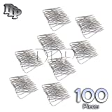 DDP SET OF 100 DENTAL MATHIEU NEEDLE HOLDER PLIER 5.5'' STAINLESS STEEL